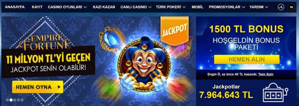gercek casino oyunlari nelerdir